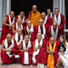 IBD's language students with HHDL