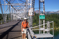 Leaving Oregon - Bridge of the Gods