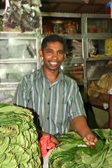 -  Betel salesman at Kandy's market - (dcem) Tags: market srilanka kandy serendib 400d canonefs1855mm3556 betelselesman
