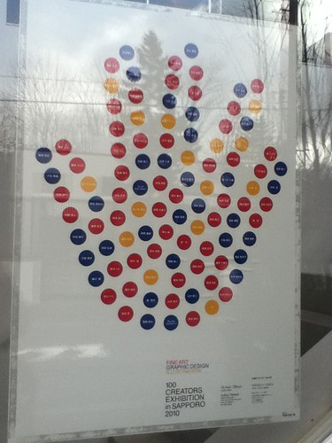 Poster of 100 Creator of Sapporo Exhibition