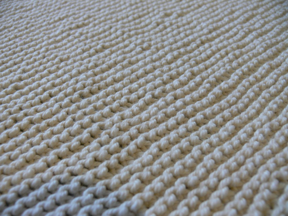 Jenny: Knitted Baby Blanket