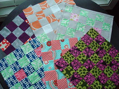 3x6 Blocks 4th Quarter (KMQuilts) Tags: