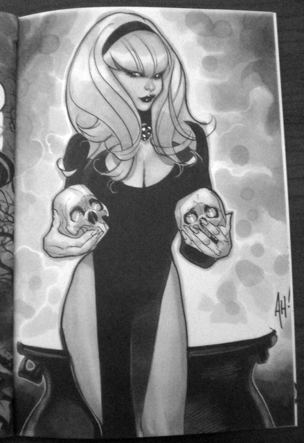 (Adam Hughes, sketchbook 2010)