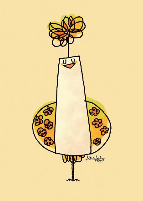 #492 Flower Bird