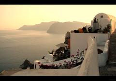Santorini, Greece    (Surrealplaces) Tags: blue island greek islands europe mediterranean atlantis santorini greece griechenland cyclades grece thira agean grcia   ccladas