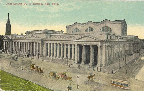 (Undated) Penn Station, NYC Postcard (Front)