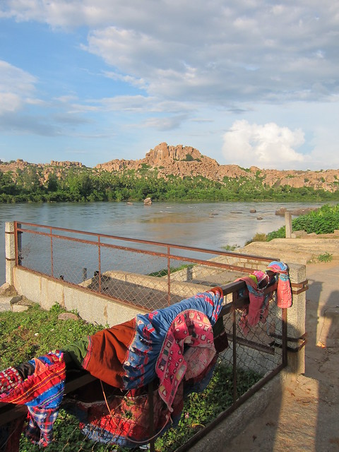Laundry in Hampi
