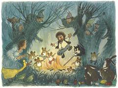 Mecki bei den 7 Zwergen / Bild 07 (micky the pixel) Tags: fairytale comics buch book comic dwarf kabouter livre mecki märchen zwerg comicfigur hörzu wilhelmpetersen diehlfilm moskottchen meckibeiden7zwergen