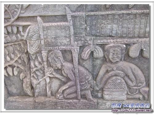 吳哥城-市集雕刻