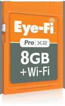 Eye-Fi Pro X2 8GB + Wi-Fi