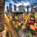 Herald Sqaure in Manhattan