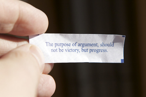 The Purpose of Argument by ImNotQuiteJack, on Flickr
