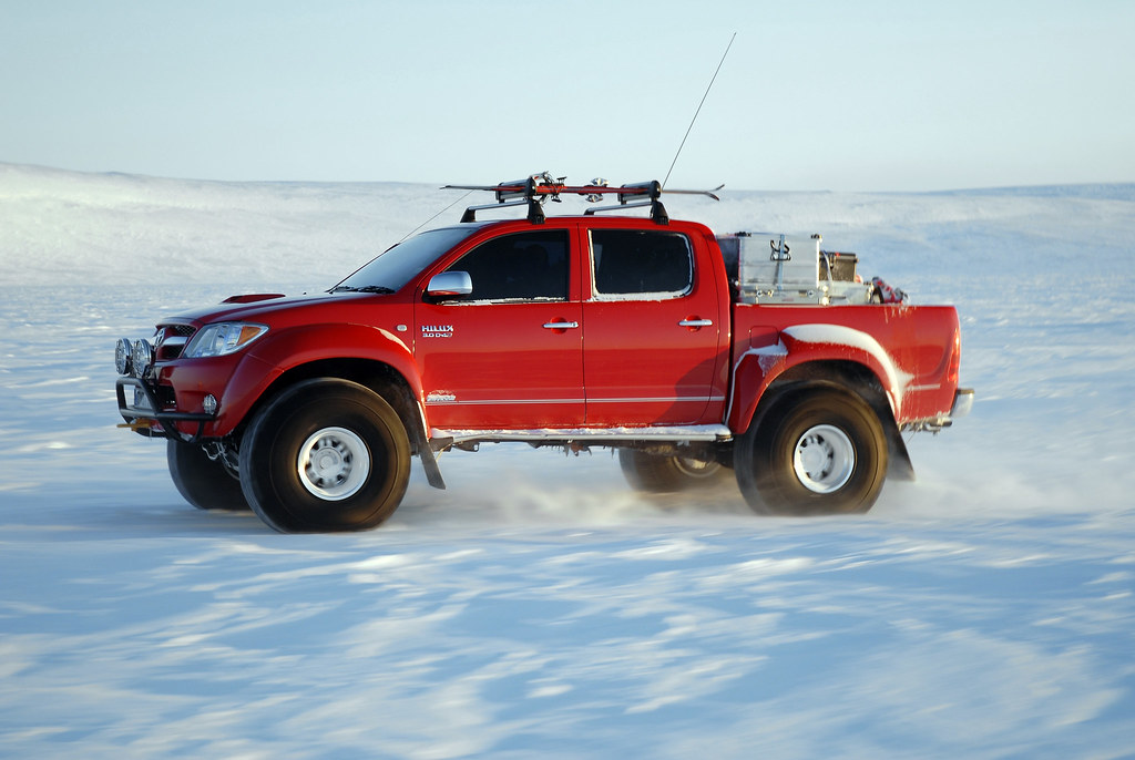 "Toyota ""Fire and Ice Hilux"""