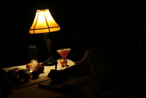 Karen signing at Choco Lounge SA