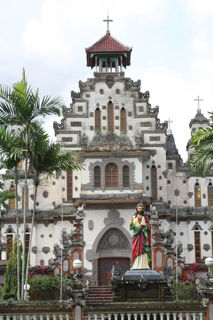 Church at Palasari, Bali, Indonesia
