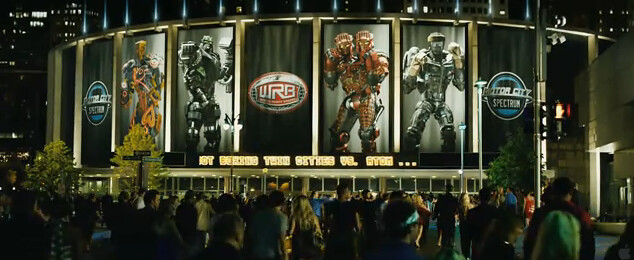 fighting robots in Real Steel 2011 Film