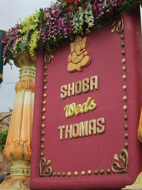 Shoba weds Thomas