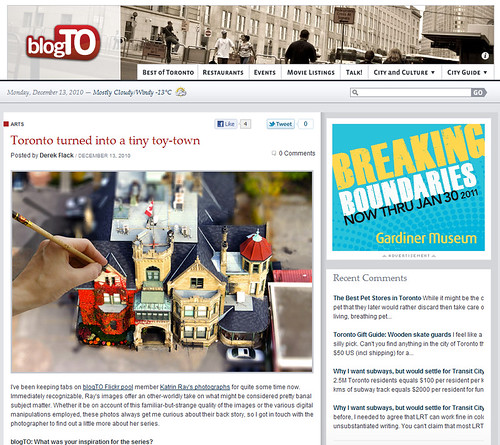 Toy-ronto featured on blogTO!