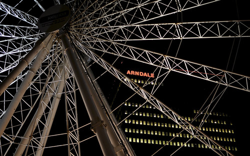 Big Wheel And Arndale Centre