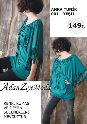 Anka Tunik 001 green