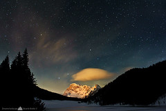 Starry over Cimon della Pala (Edoardo Brotto) Tags: winter snow night way stars landscape nikon nightscape milky starry dolomiti 5xp d3s edoardobrotto