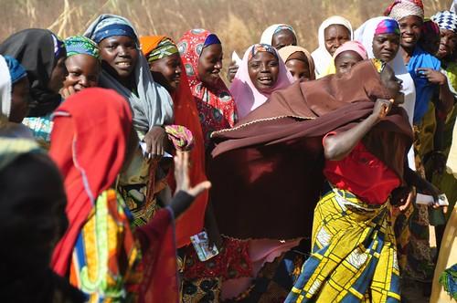 Village women in Plateau state