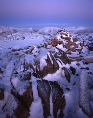 Earth shadow rising. (Richard Childs) Tags: mountain mountains scotland im scottish velvia richard childs guessing landscapesshotinportraitformat