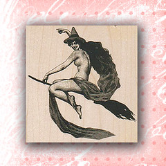 Witch On Broom Rubber Stamp ~ Craft Stamps (RubberShow) Tags: black halloween scrapbooking paper witch craft rubber stamp etsy rubberstamp broom rubberstamping craftsupplies papercrafts witchonbroom craftstamps