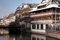 La Petite France, Strasbourg (LenDog64) Tags: city bridge november winter france history tourism architecture french canal europe european cityscape angle sony sightseeing wide culture wideangle tourist historic canals unescoworldheritagesite ponte strasbourg alsace alpha strasbourgfrance 700 fortifications tamron alsatian lapetitefrance halftimbered 2010 lightroom halftimber halftimberedhouse a700 tamronlens grandile tamron1750 tamronspaf1750mmf28xrdiiildasphericalif lightroom3 sonya700 sonyalpha700 sony700 ileriver