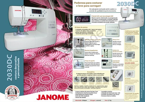 Flickriver Photoset 'JANOME 40DC ' By Vilson JANOME New Janome 2030dc Sewing Machine
