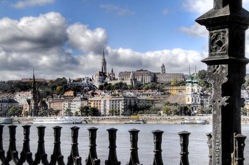 View of Buda. Budapest. Vista de Buda