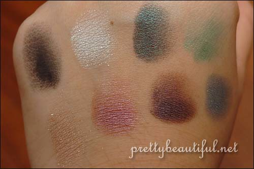 Urban Decay Book of Shadoq Volume III: NYC Swatches Part 1 on hand