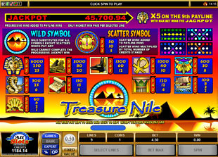 free Treasure Nile slot mini symbol