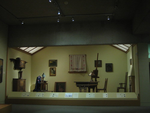 An Artist's Studio, Early 20th Centruy style, Oakland Museum of California _ 9585