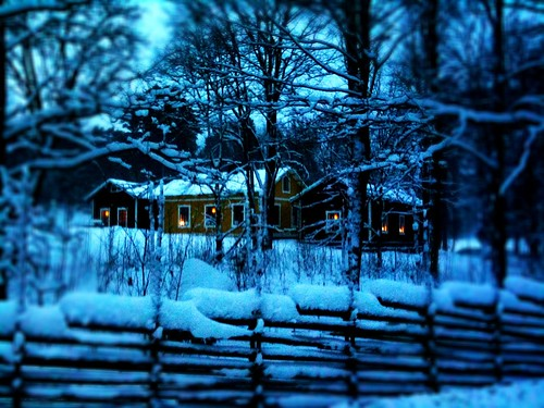 Winter House at Djurgården