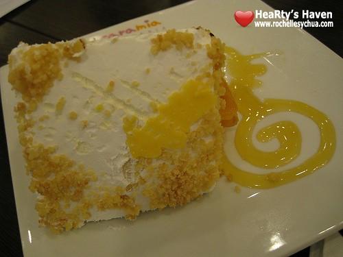 mango symphony cake caramia