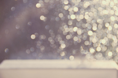 Winter Bokeh Flows Through My Window...