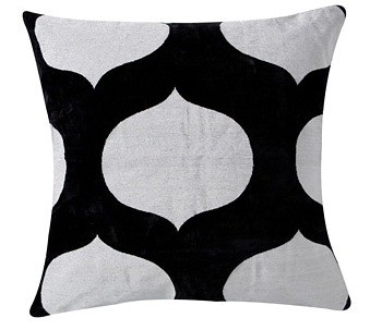 Madeline Weinrib black white pillow