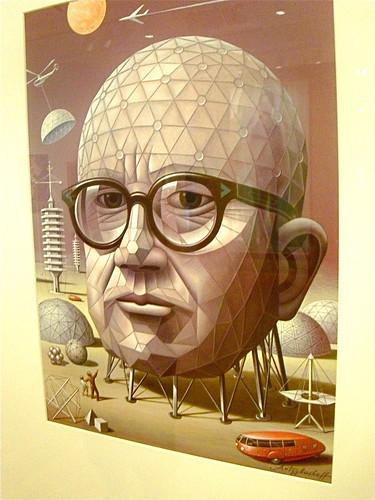 47  143/365  Another pseron I dig; Buckminster Fuller