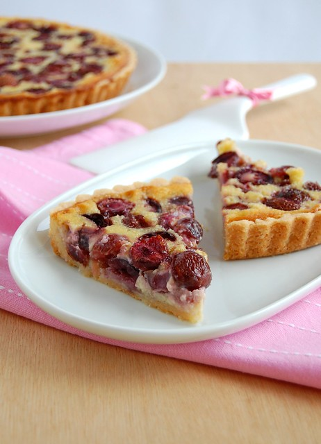 Bill's cherry tart / Torta de cereja do Bill