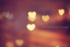 Sobresaliente en sonrisas (Lunayda) Tags: christmas pink light love smile vintage soft heart bokeh happiness explore