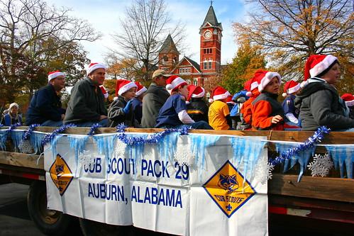 Auburn Christmas Parade 2010