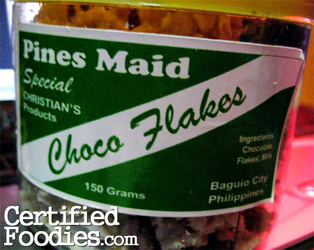 Pines Maid Choco Flakes from Baguio - CertifiedFoodies.com