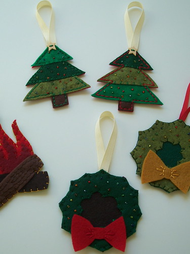christmasy ornaments