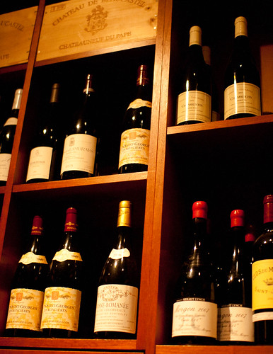 Selection in the wine cellar