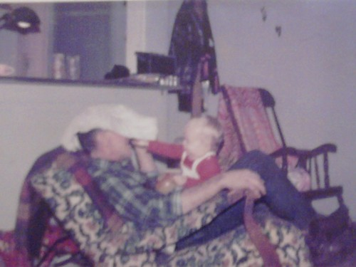 My favorite photo: me & pops