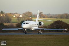 N10EU - 46 - Sky Aviation Ltd - Dassault Falcon 2000EX - Luton - 101209 - Steven Gray - IMG_6532