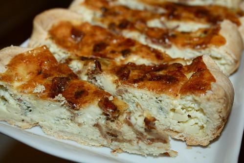 Gorgonzola Bacon Quiche