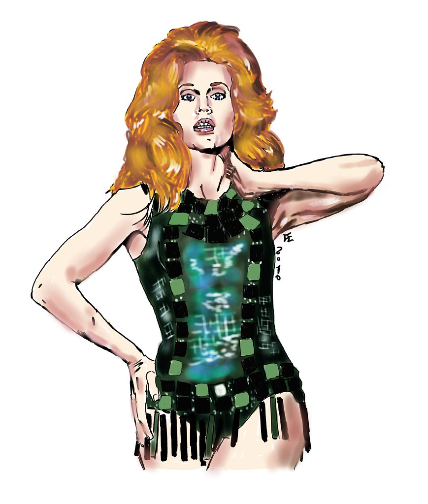 barbarella francesco elisei li tags woman girl space queen galaxy future blonde scifi