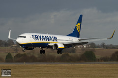 EI-DAS - 33553 - Ryanair - Boeing 737-8AS - Luton - 100205 - Steven Gray - IMG_6969